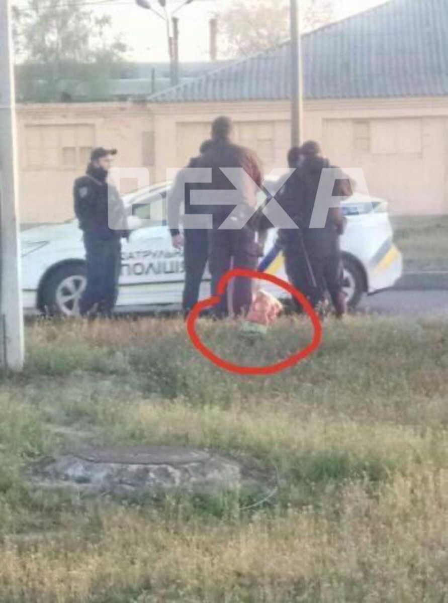 Поліція на місці НП