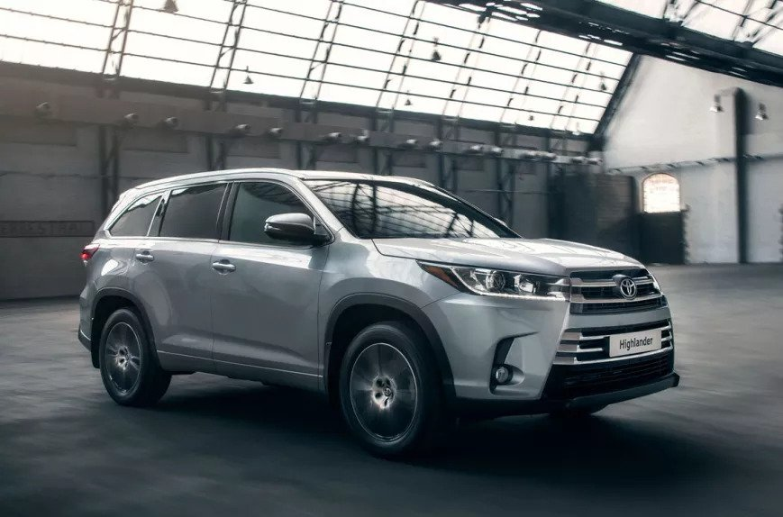 Toyota Highlander – один з суперників Geely HaoYue
