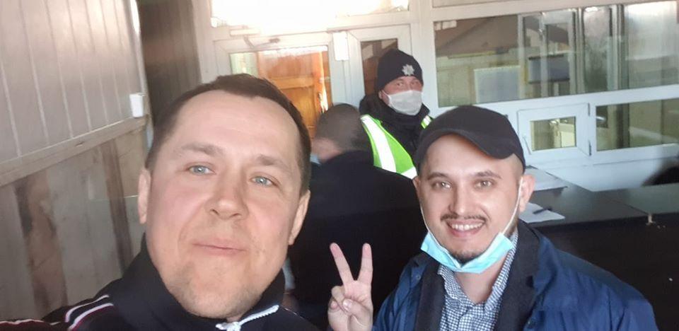 Ковальчук та Бригадир у відділенні поліції