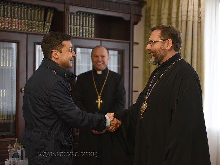 Зеленский и Святослав