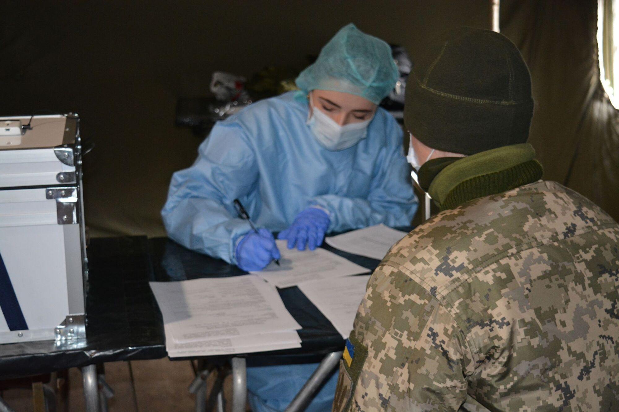 В ВСУ провели более 500 ПЦР-тестов для военнослужащих
