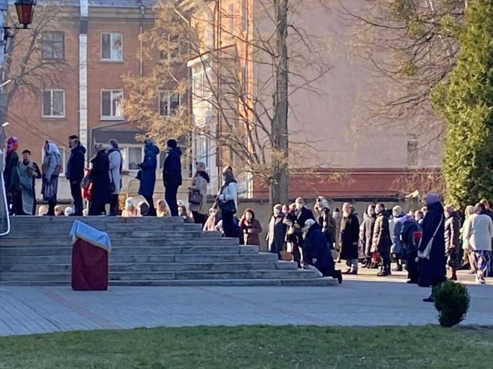 Спасо-Преображенский собор УПЦ МП в Житомире