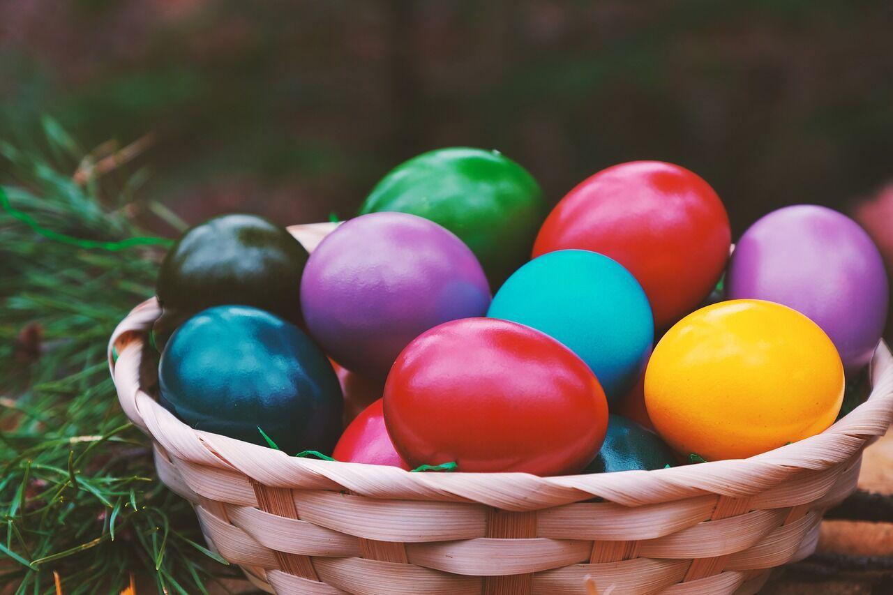 Главным символом Пасхи у католиков являются пасхальные яйца