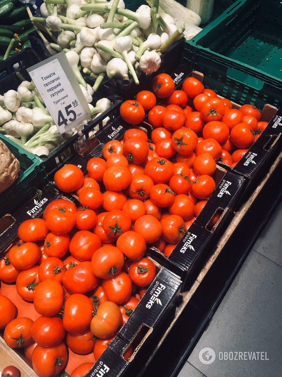 Овочі подорожчали не так сильно, як інші продукти