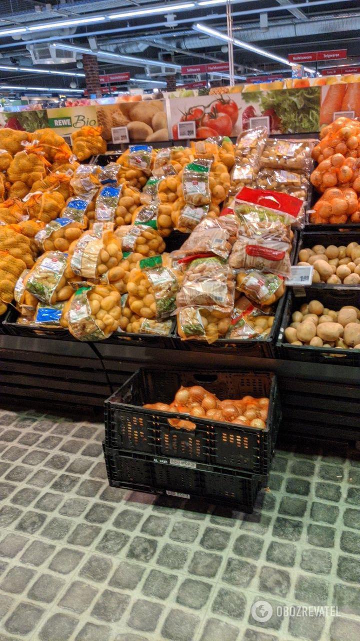 Еды в супермаркетах достаточно