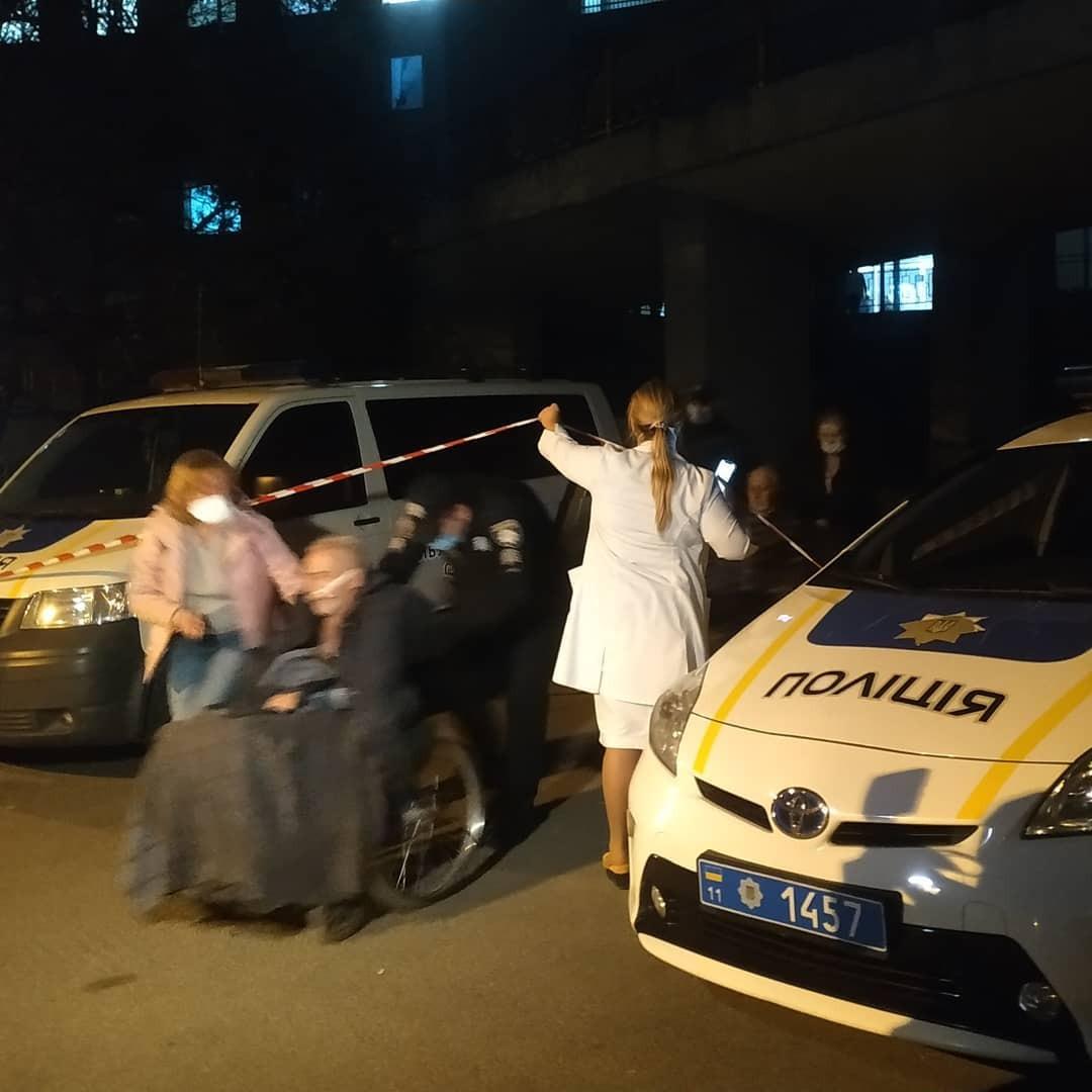 Эвакуация пациентов