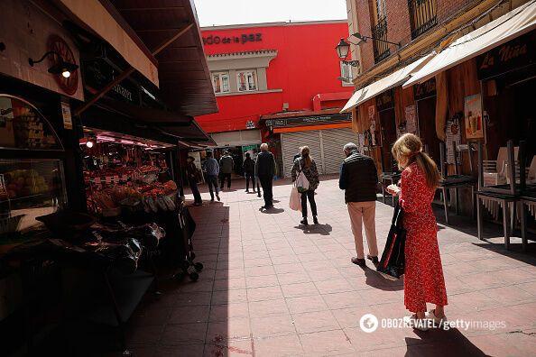 Соблюдение карантина в Испании