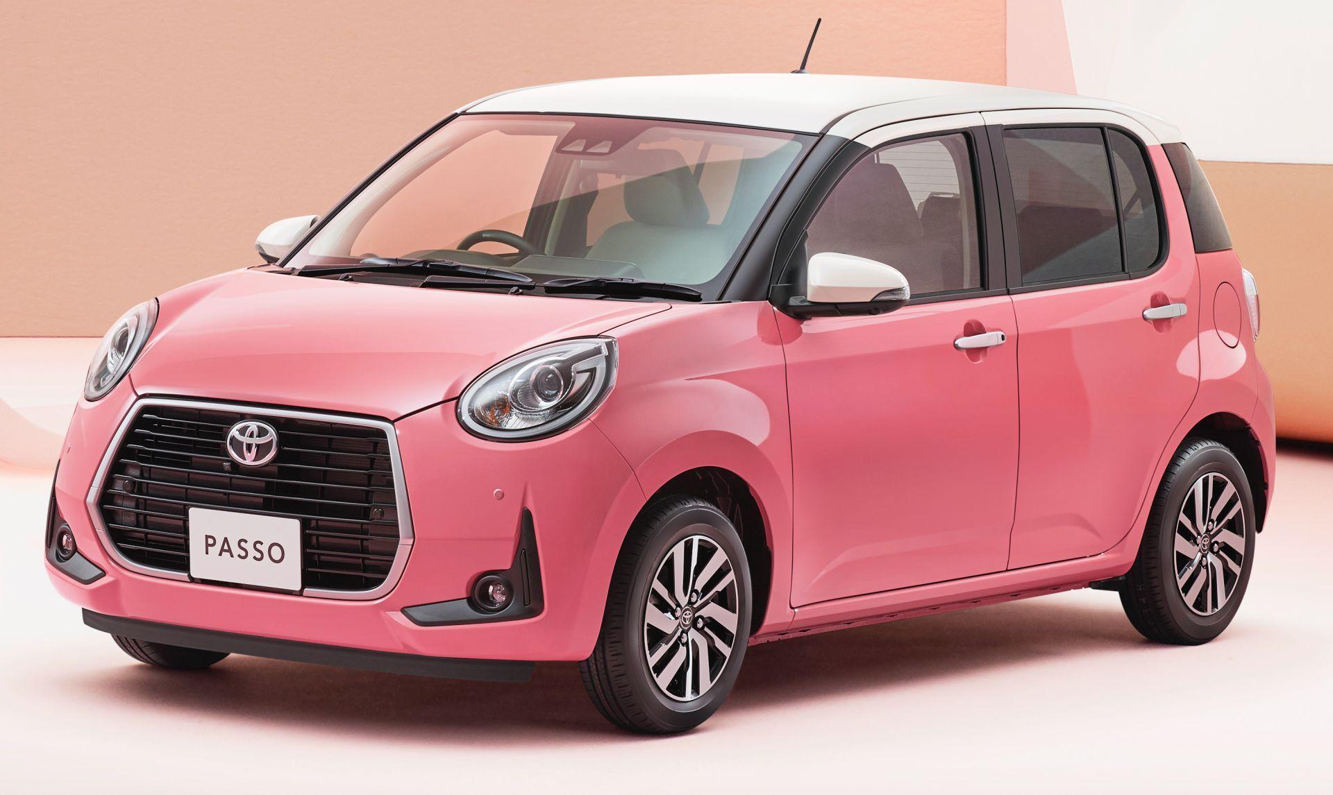 Toyota Passo Moda Charm в цвете Juicy Pink