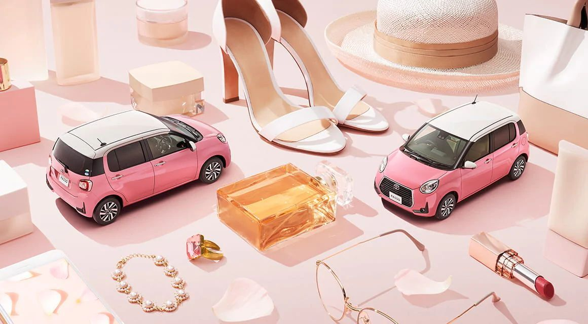 Toyota Passo Moda Charm создана для женской аудитории