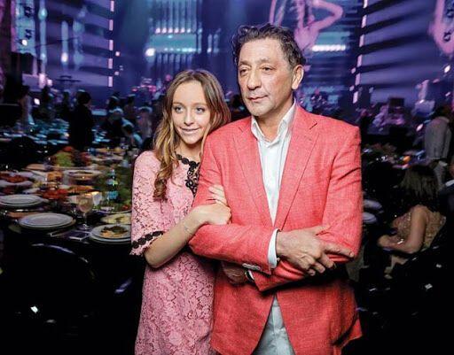 Григорий Лепс и его дочь Ева