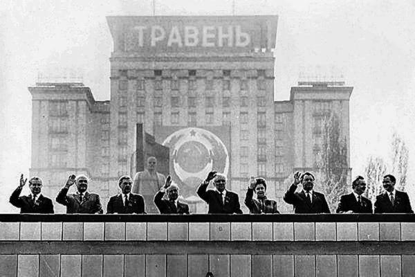Політики на параді в Києві