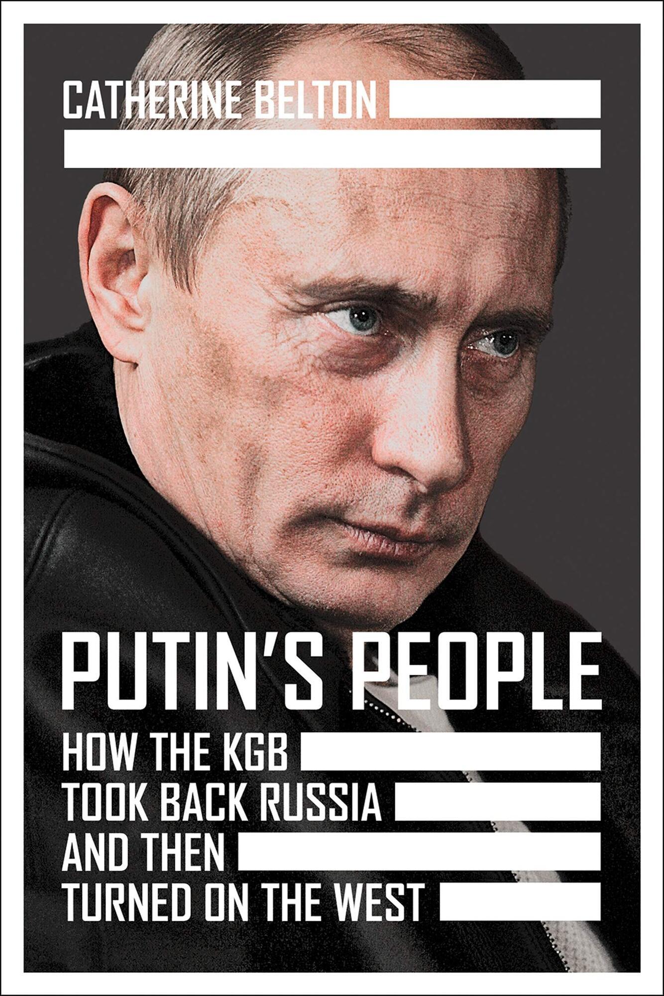 Обкладинка нової книги про Путіна