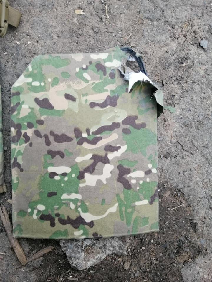 Наслідки пострілу снайпера