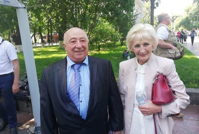 Родители Владимира Зеленского