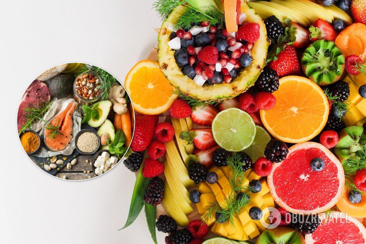 Богатая антиоксидантами пища сводит к минимуму окислительный процесс в клетках