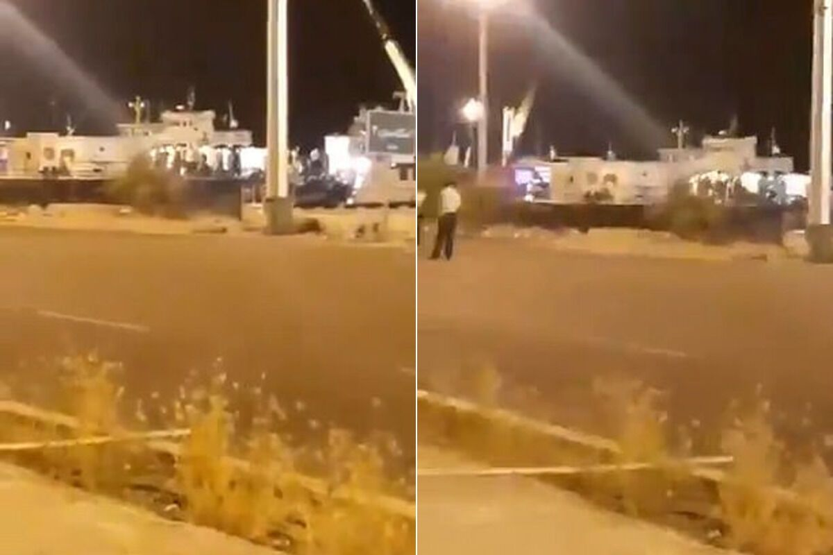 Иран запустил ракету в свой военный корабль