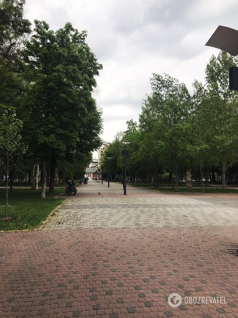 Парки Дніпра напівпорожні