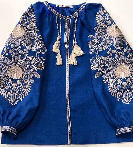 Синяя вышиванка