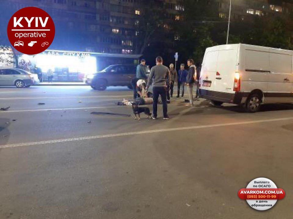 У Києві трапилася ДТП із потерпілим