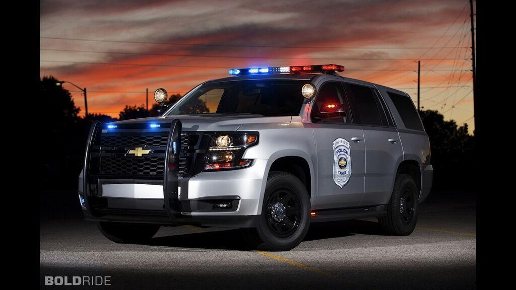 Полицейский Chevrolet Tahoe PPV прежнего поколения