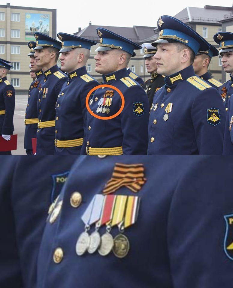 Курсанти-випускники в Росії з медалями за Крим і Сирію