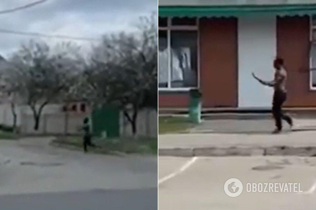 В Харькове иностранец избил полицейского веткой из-за маски