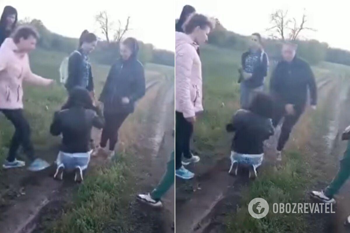 Під Харковом підлітки побили і принизили дівчину з інвалідністю