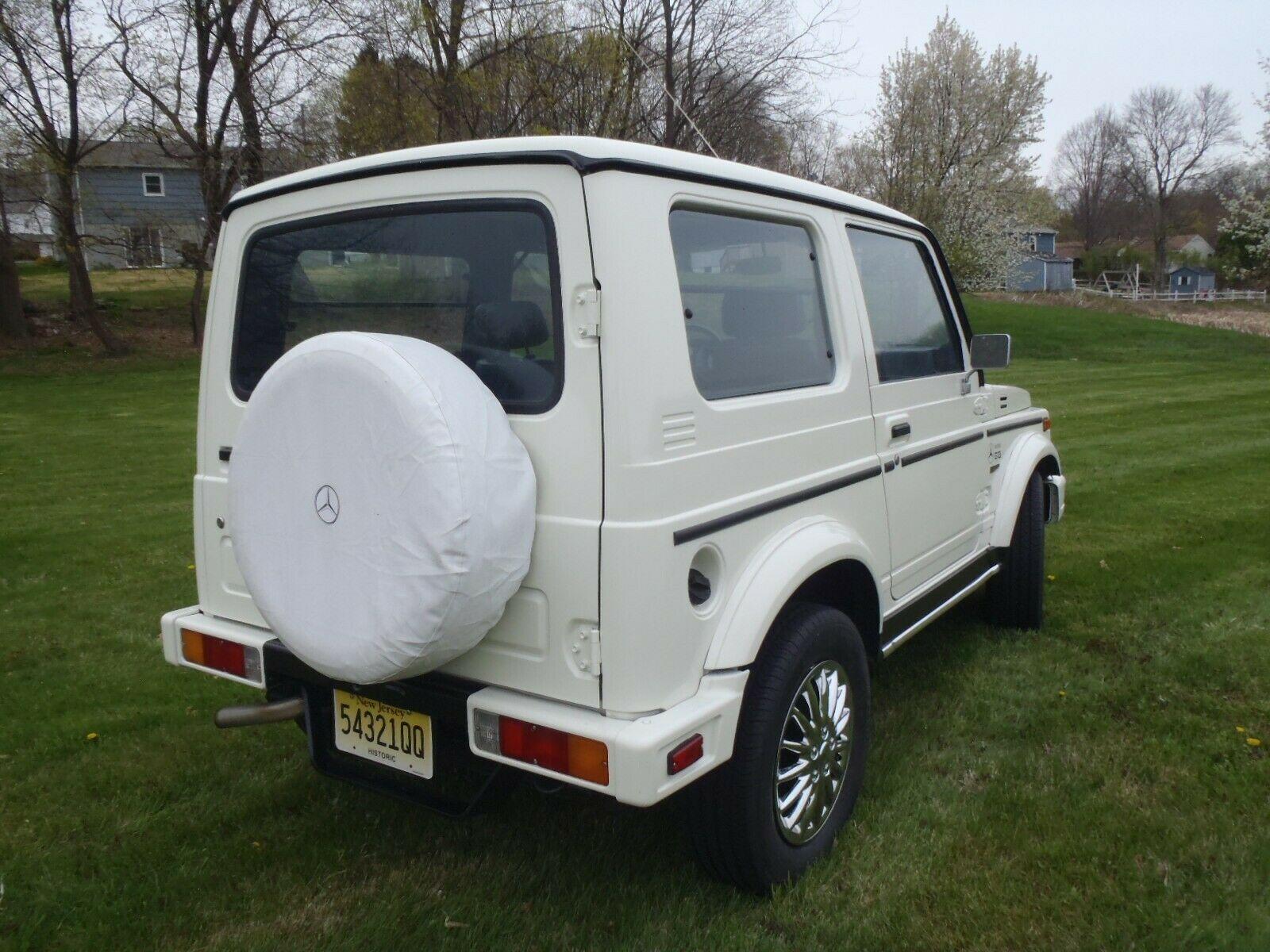 Тюнинг Suzuki в стиле Гелендвагена