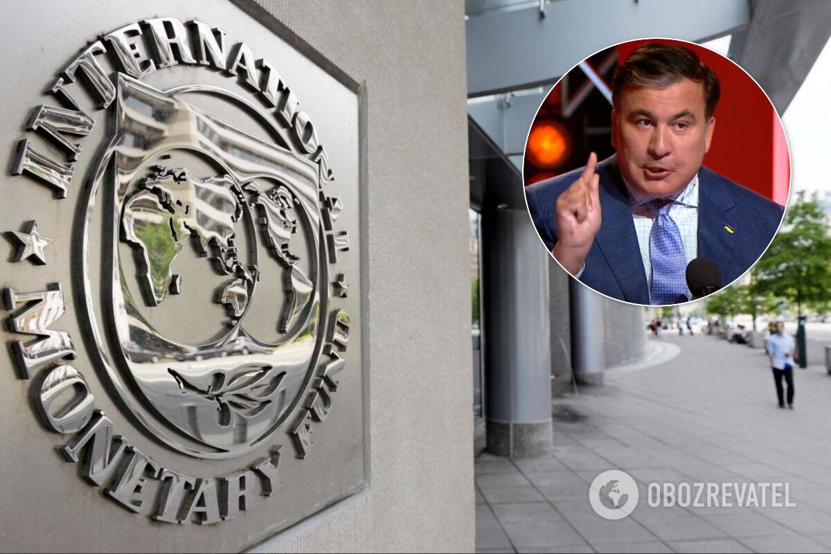 Саакашвілі висловився про кредити МВФ