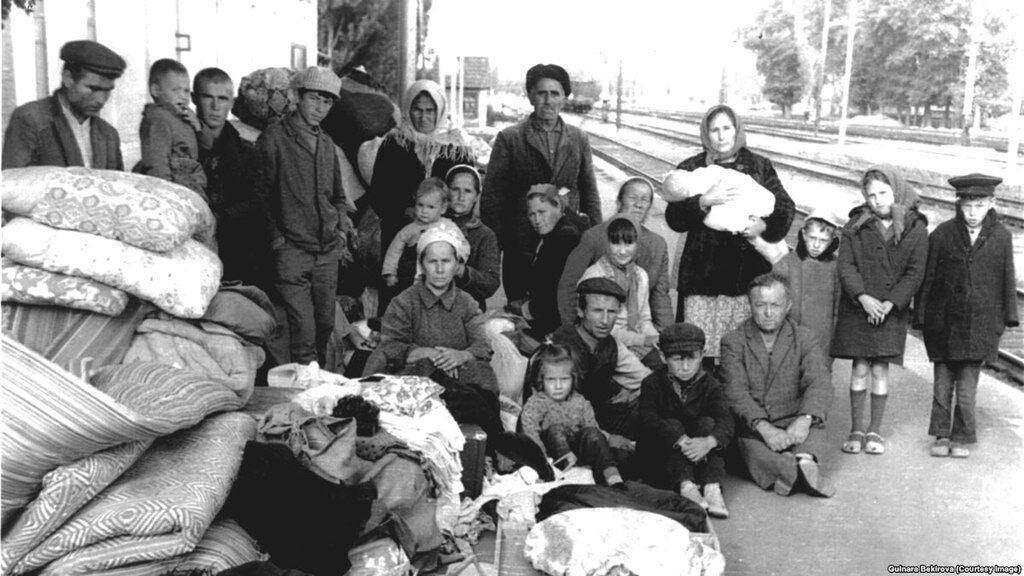 Кримські татари після прибуття до Узбекистана
