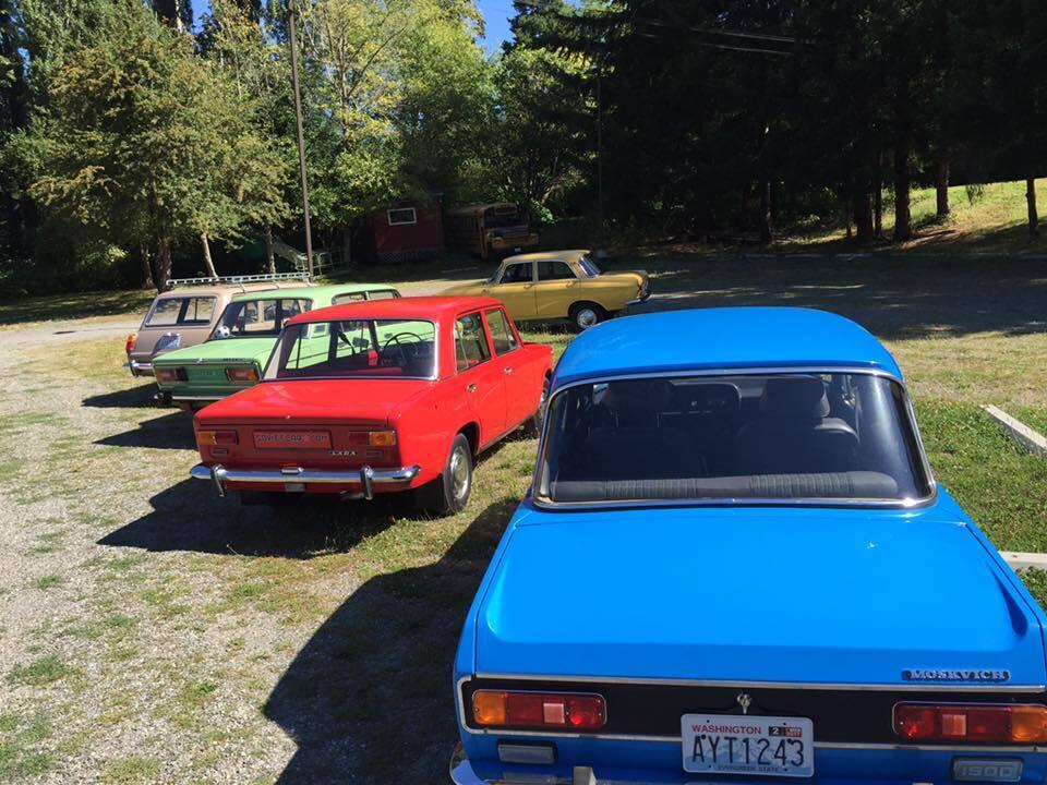 Радянські авто в США