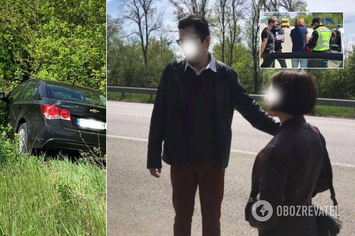 Нетверезий водій, за словами потерпілих, хвалився поліцейським, що він автоюрист