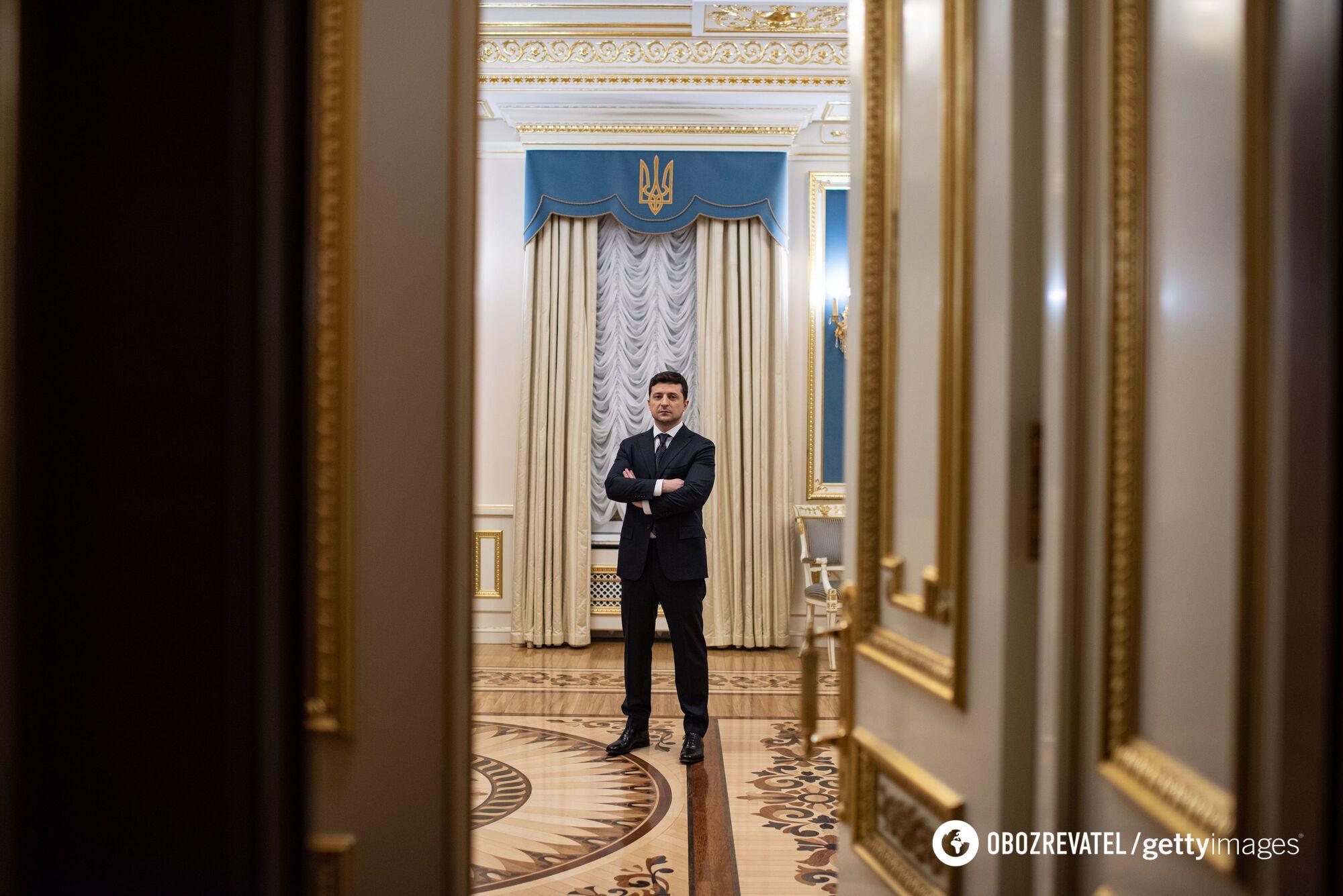 Президент під час фотосесій одному зі світових ЗМІ