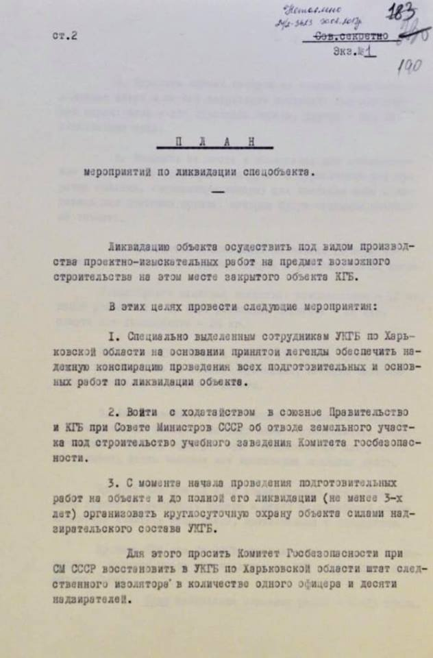 Розчиняли останки їдким лугом: як КДБ намагався замести сліди масових розстрілів у Харкові. Документи