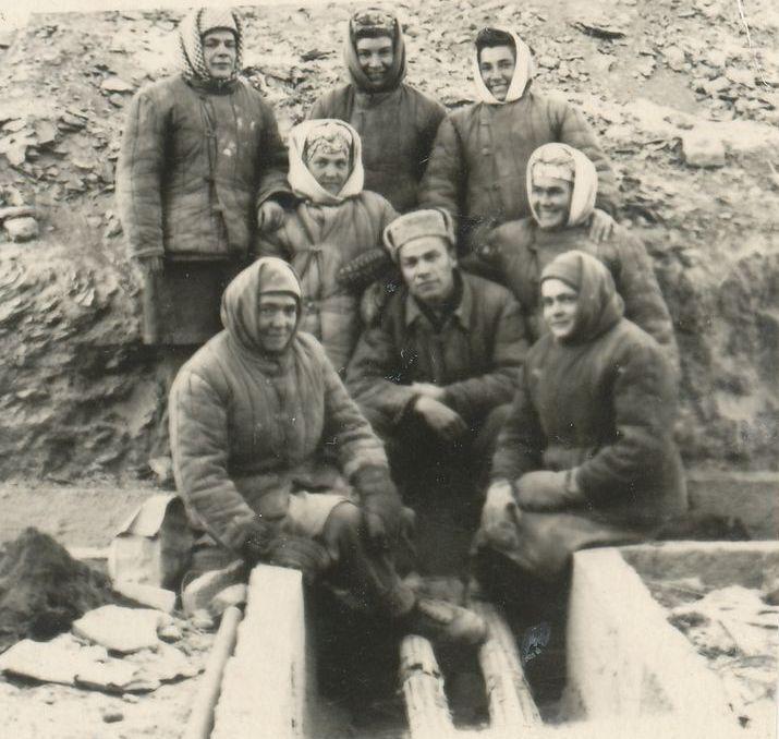 Группа литовских политзаключенных в Кенгире (1949–1956)