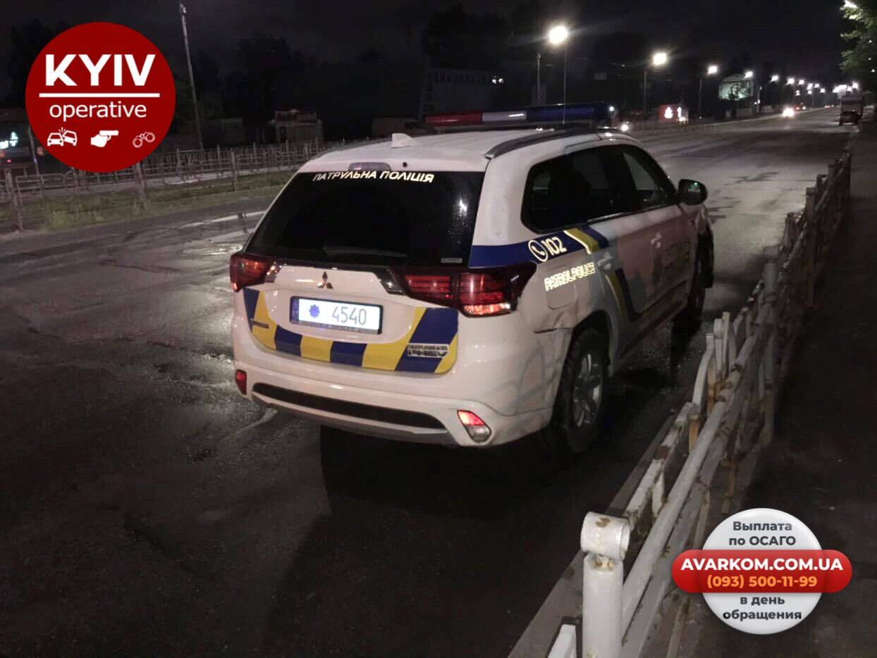 У Києві трапилася ДТП за участю поліції й таксі Uber