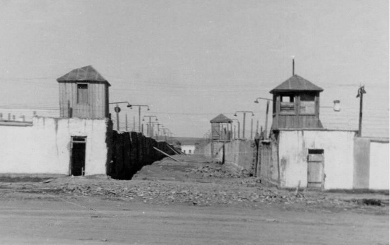 Степной лагерь в поселке Кенгир