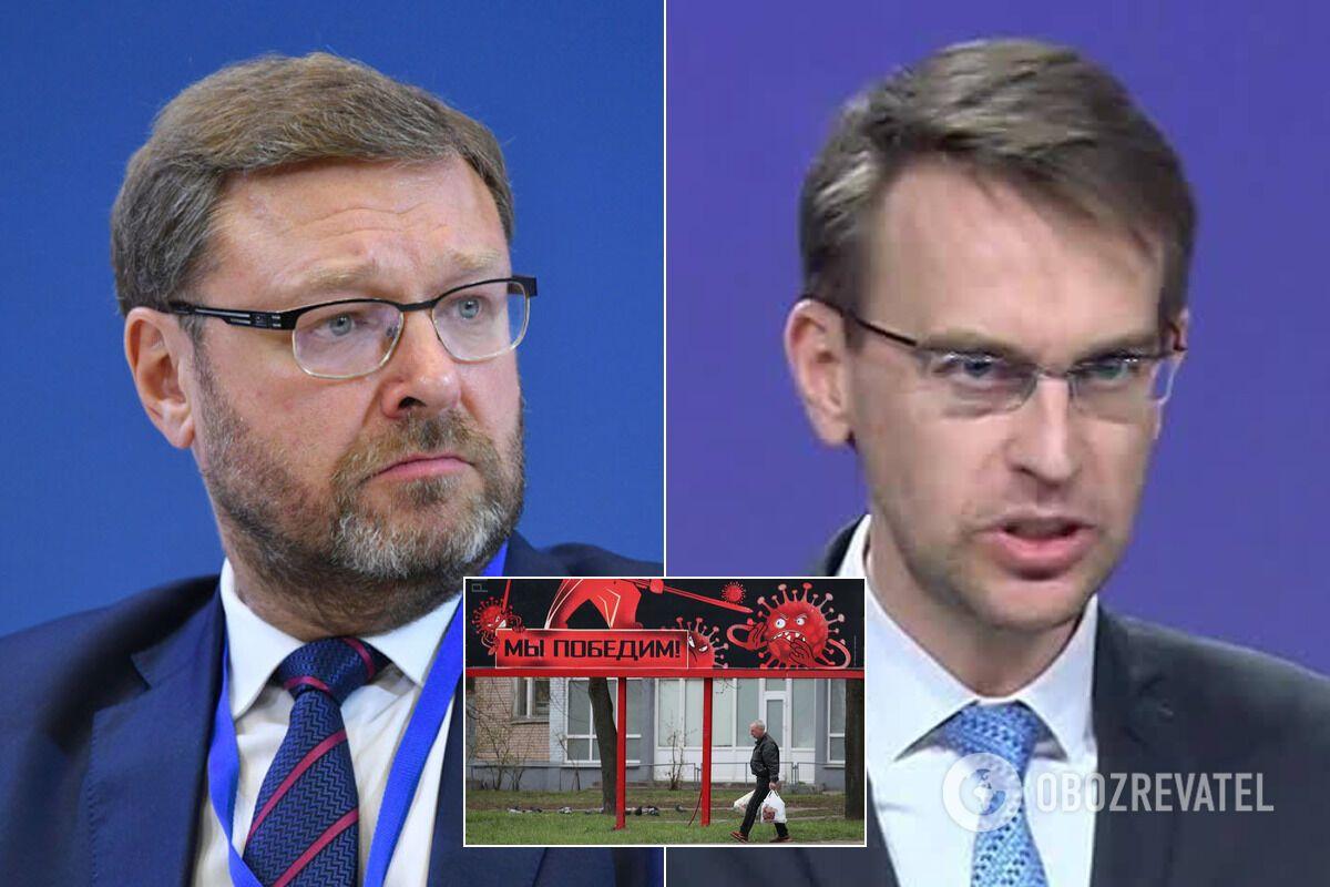 Костянтин Косачев і Петер Стано