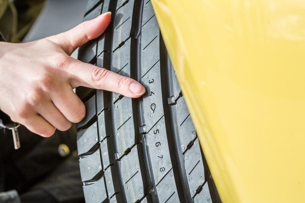 Индикатор DSI в виде капли показывает, когда шина уже не может защищать от аквапланирования на мокрой дороге
