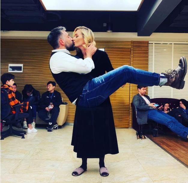 Поліна Гагаріна і Дмитро Ісхаков
