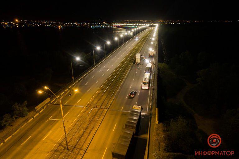 ДТП на Кайдакському мосту в Дніпрі