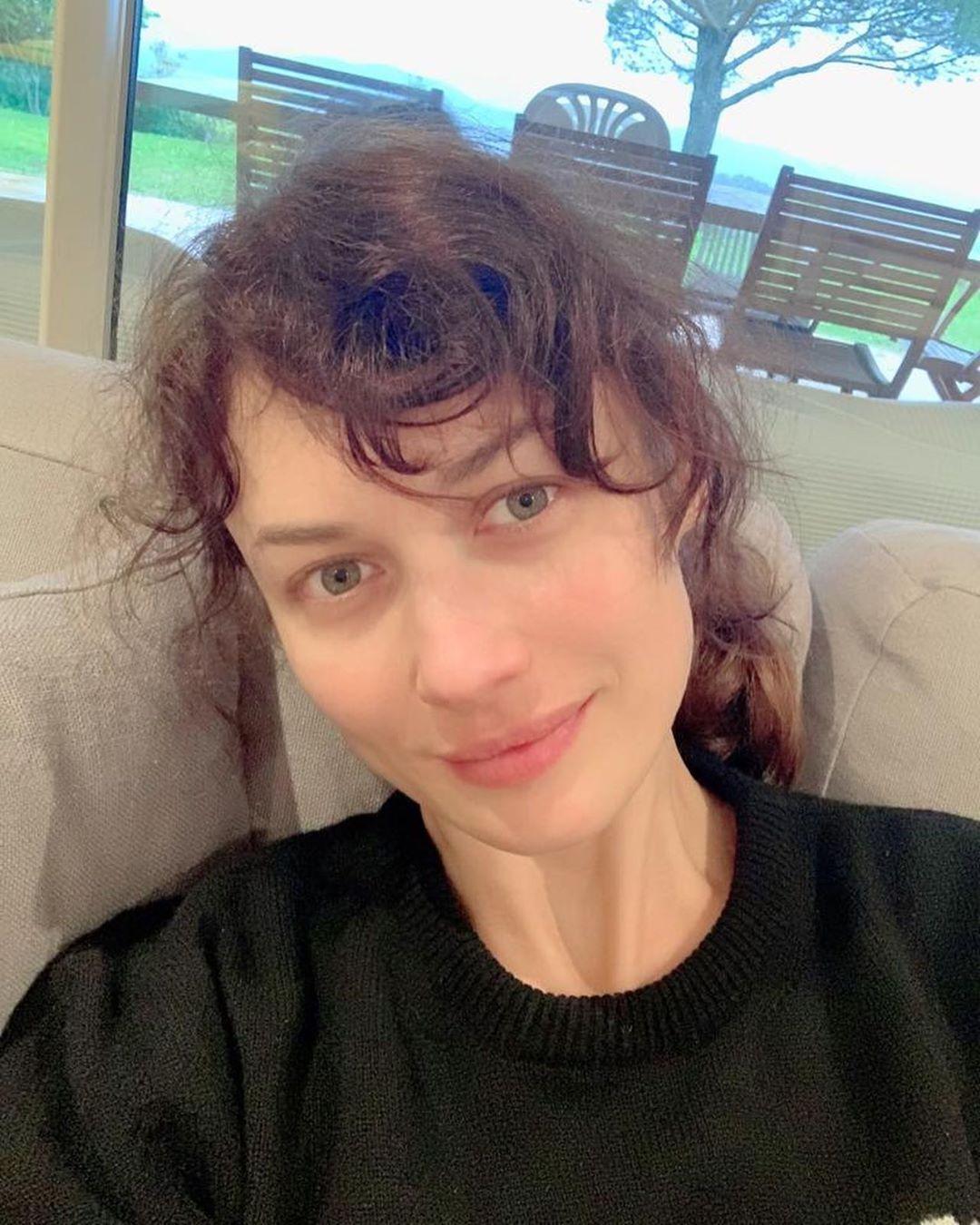 Ольга Куриленко без макіяжу