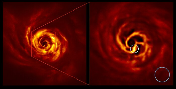 Європейські астрономи зафіксували народження нової планети