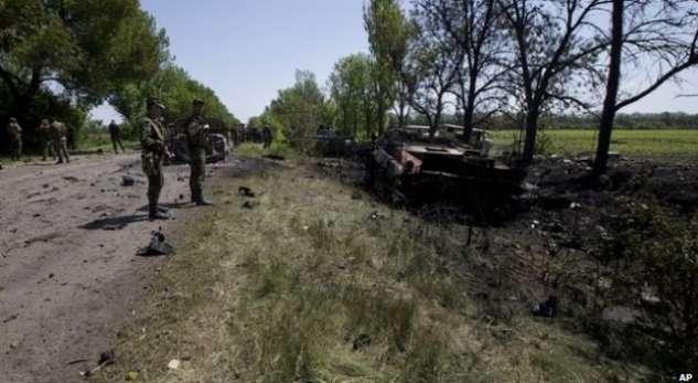 У результаті нападу банди Безлера на блокпост 51 ОМБр 22 травня 2014 загинуло 17 військовослужбовців