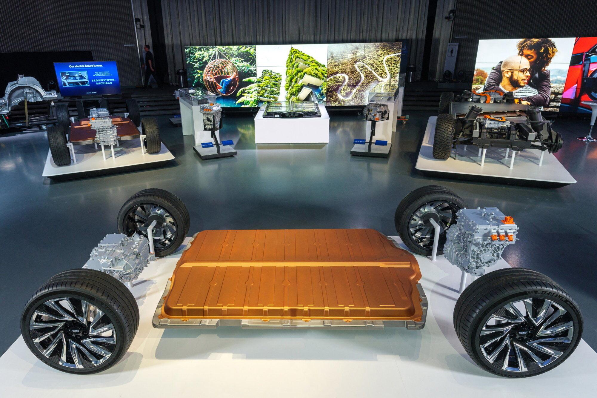 GM Ultium – нова лінійка батарей, які скоро з'являться в серійних електрокарах концерну