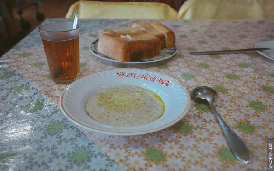 Завтрак в СССР: каша