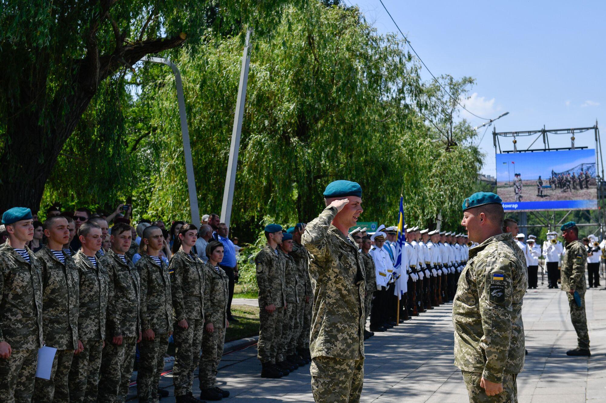 День морской пехоты Украины отмечается 23 мая