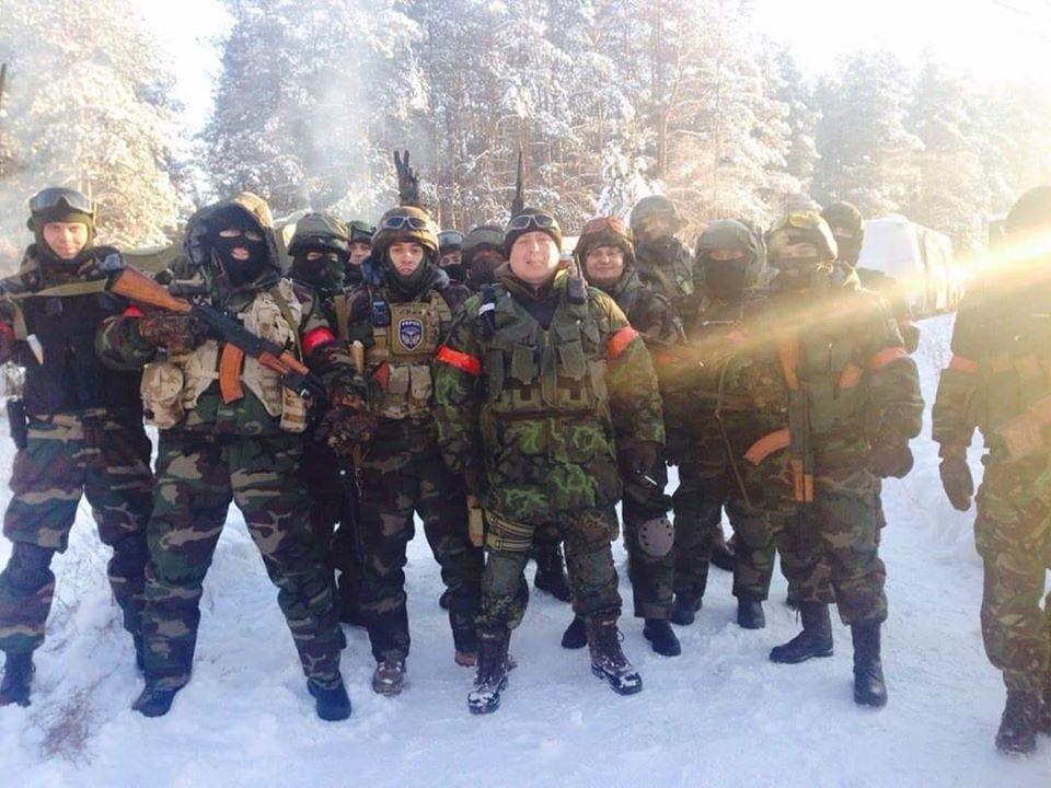 Сергій Губанов із товаришами по службі