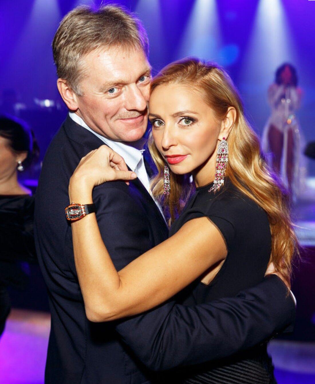Дмитро Пєсков і Тетяна Навка