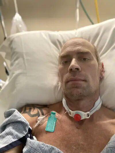 Майк Шульц у лікарні